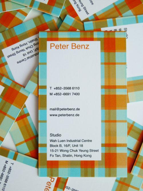 Business Card - Peter Benz