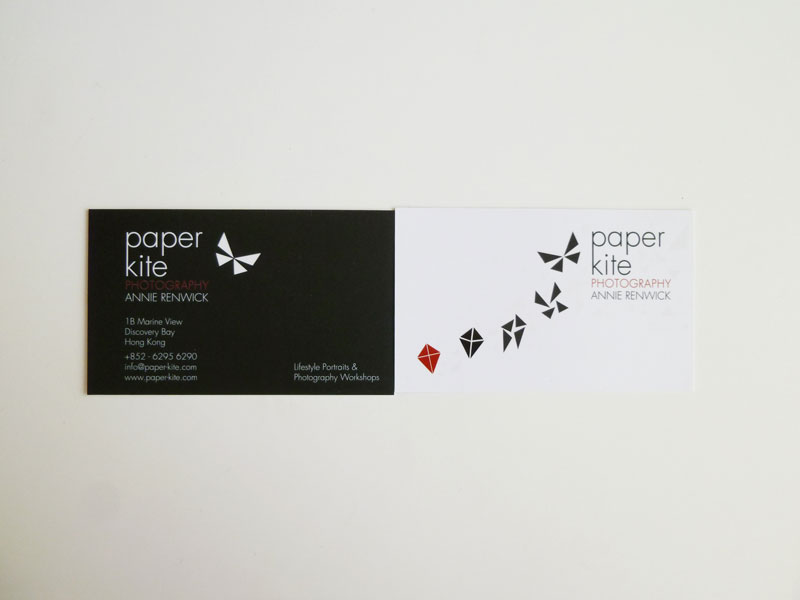 Paper Kite Photography Business Card